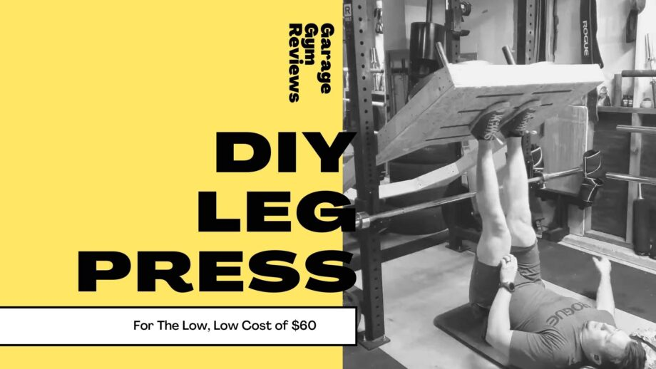 DIY Leg Press for Under $60