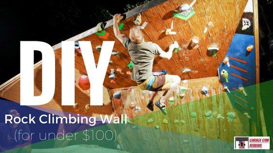 DIY Rock Climbing Wall for Under $100