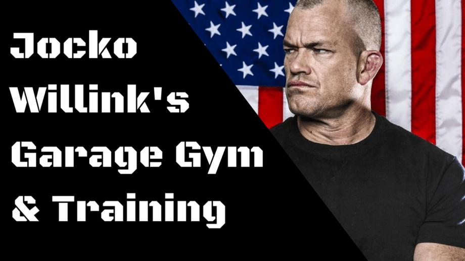 Jocko Willink's Garage Gym & Training