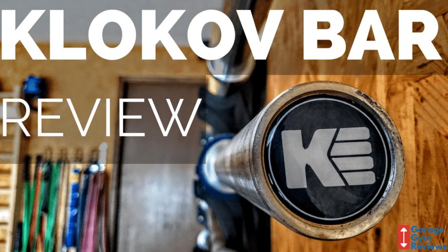 Klokov Equipment 20 KG Weightlifting Barbell Review