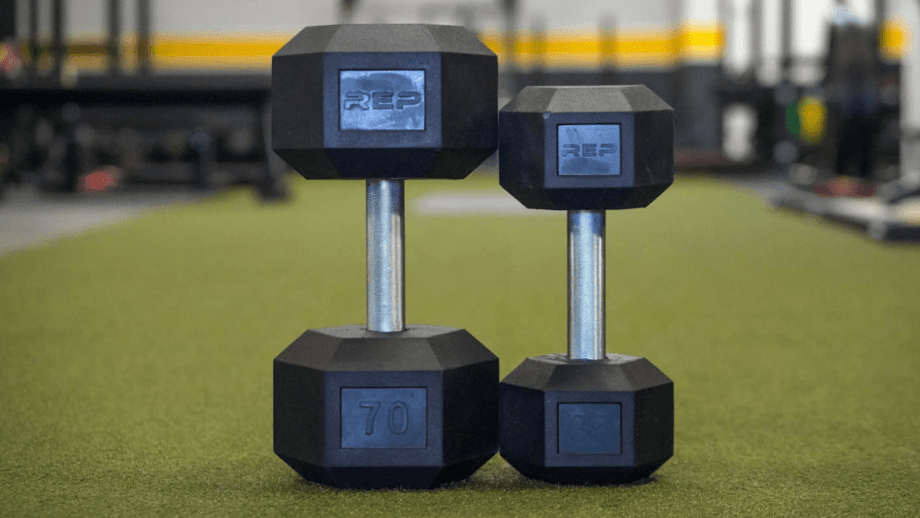 Rep Fitness Rubber Coated Hex Dumbbells In-Depth Review