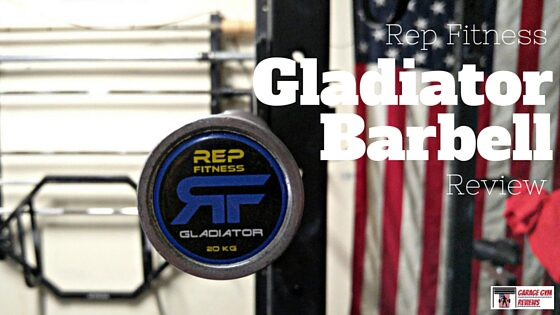 Rep Fitness Gladiator Olympic Bearing Bar Review