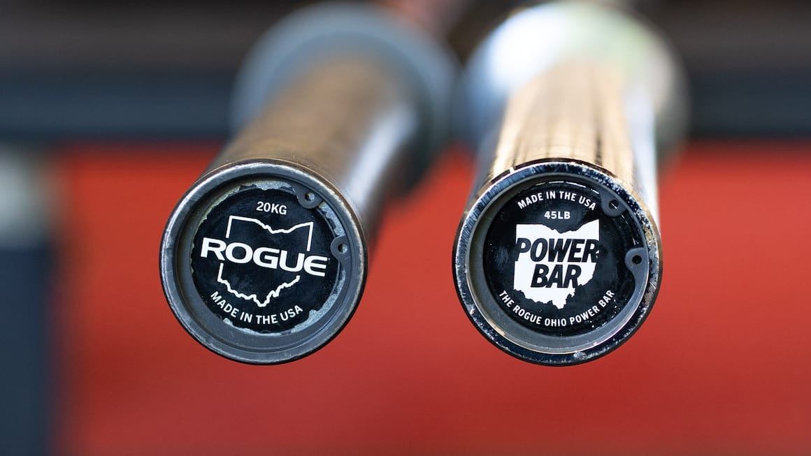 Rogue Ohio Power Bar vs. Rogue Ohio Bar Review: Rogue Fitness Best Home Gym Barbell