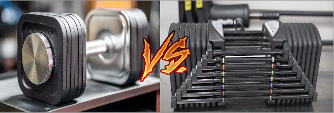 PowerBlock vs. Ironmaster Adjustable Dumbbells: The Showdown (2021)