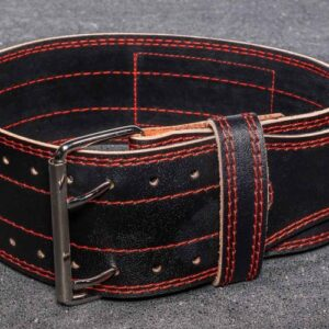 Rep 4-Inch Black Leather Lifting Belt