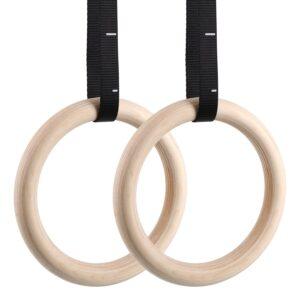 FEMOR Wood Gymnastic Rings