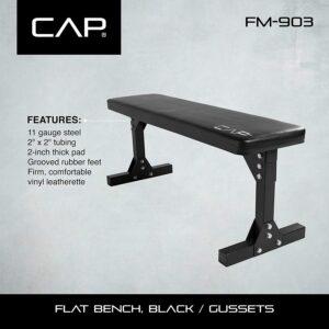 CAP Barbell Flat Utility Weight Bench