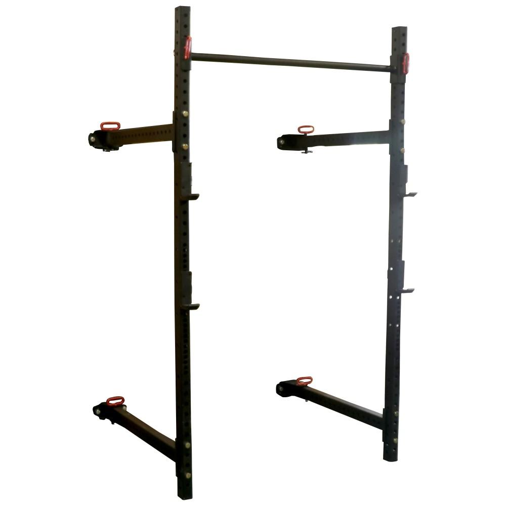 Titan T-3 Fold Back Wall-Mounted Squat Rack