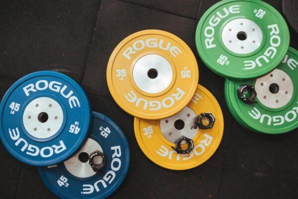 Rogue Color LB Training 2.0 Bumper Plates