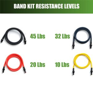 Gorilla Bow Portable Home Gym Reistance Band System