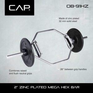 CAP OB-91HZ Mega Hex Bar