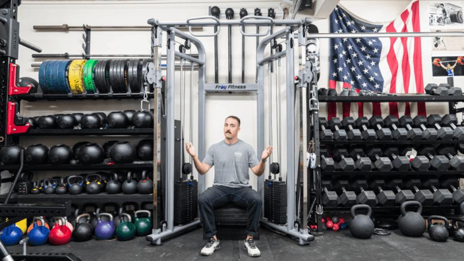 Garage Gym Reviews, Pulley System For Garage Gym