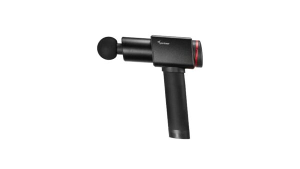 Product photo of the Sportneer Elite D9 massage gun on a white background