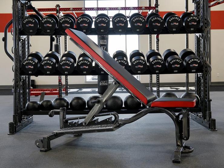 Sorinex 0-90 NP3 Adjustable Bench