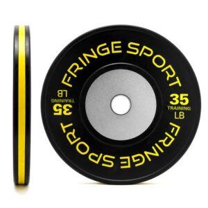 FringeSport LB Black Training Competition Bumper Plates