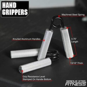 Serious Steel Fitness Hand Grippers