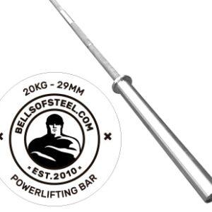 Bells of Steel Barenaked Powerlifting Bar 2.0