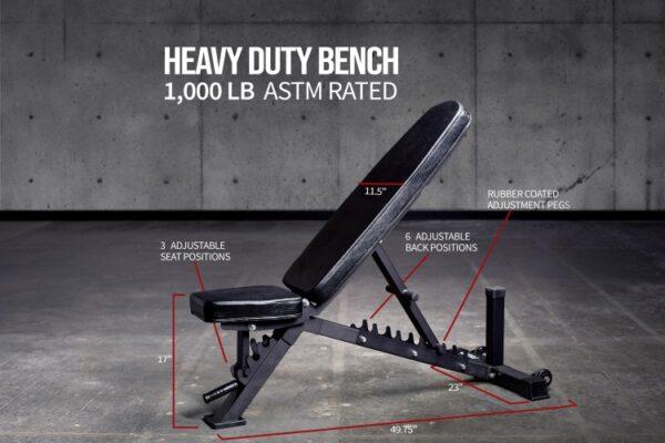 Rep AB-3100 Adjustable Bench V3
