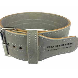 Dominion 4-Inch Leather Weightlifting Belt