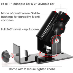 Yes4All Deluxe T-Bar Row Platform