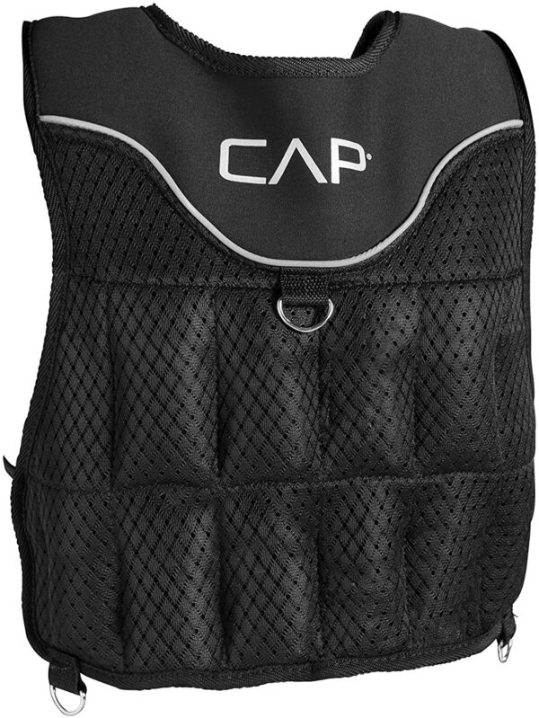 CAP 20 LB Adjustable Weight Vest