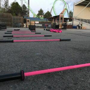 FringeSport Women's 15KG Bomba Cerakote Barbell