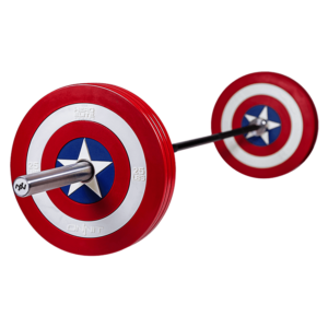 Onnit Captain America Shield Barbell Plates