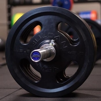 Vulcan Rubber Coated Olympic Weight Plates