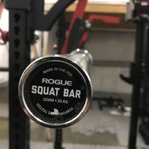 Rogue 32MM Squat Bar