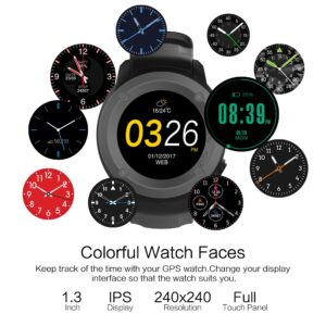 Parnerme GPS Running Watch