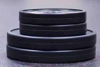 Vulcan Black V-Lock Weight Training Discs