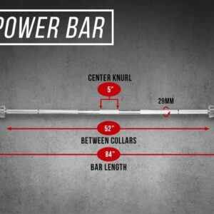 Rep Stainless Steel Power Bar V2
