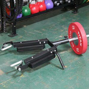 Titan Linebacker Landmine Squat Attachment