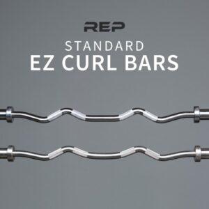 Rep EZ Curl Barbell