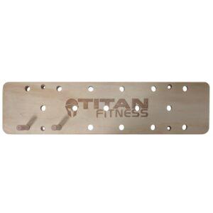 Titan Fitness Wall Mounted Peg Board