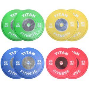 TItan Color Elite KG Bumper Plates