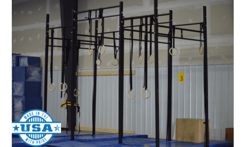 "FringeSport Floor Mount Gym Rig 2""x3"""