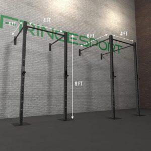 """FringeSport 3""""x3"""" Wall Mount Garage Gym Rig"""