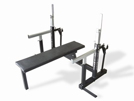 ER Equipment Squat & Bench Press Combo Rack