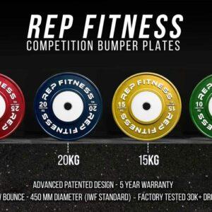 Rep Competiton KG Bumper Plates
