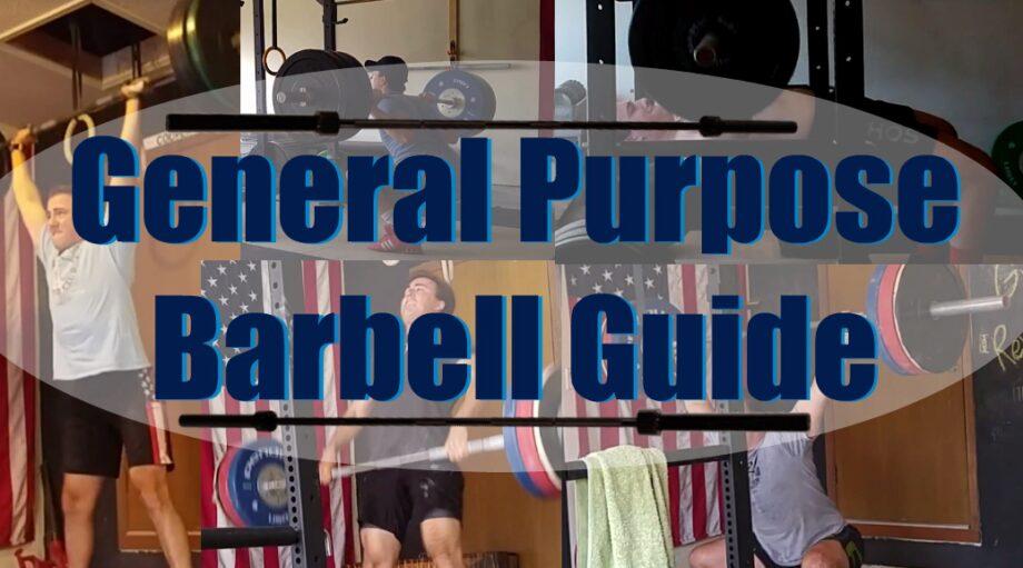 General Purpose Barbell Guide
