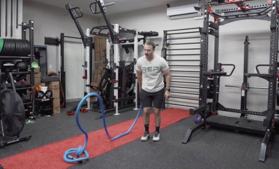 Man using Hyperwear Hyper Ropes