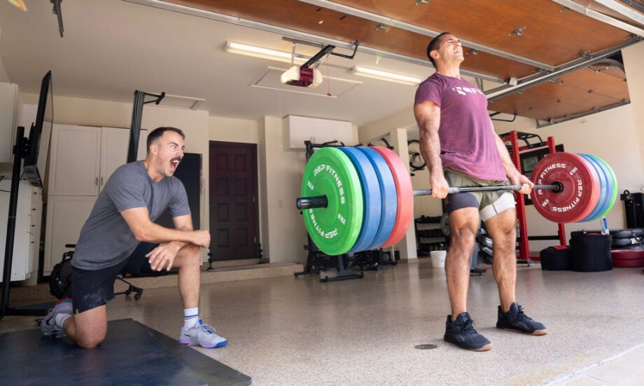 A Visit With Jason Khalipa: Touring His Gym and a Heck of a Workout