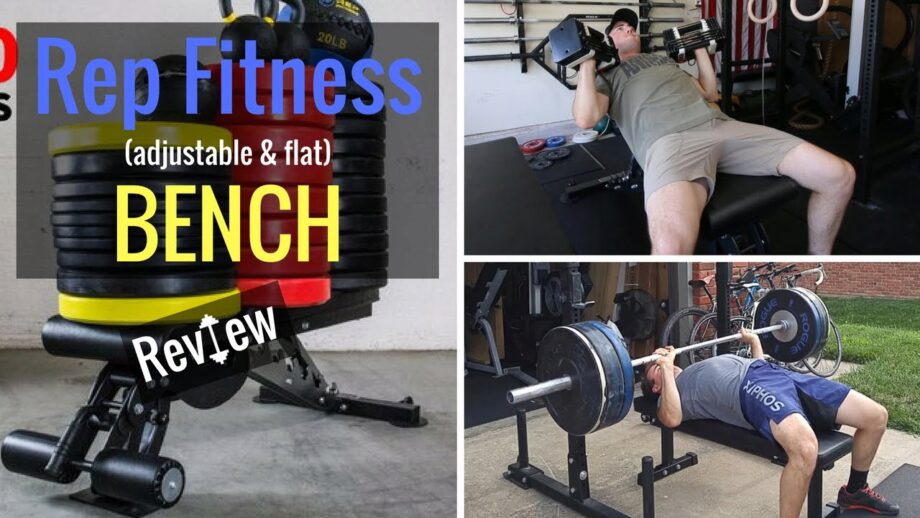 Rep Fitness Adjustable & Flat Bench REVIEW!