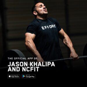 NCFIT app image showing Jason Khalipa lifting