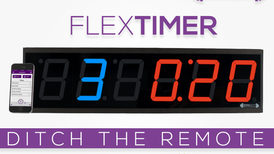 GymNext Flex Timer Review: Bluetooth Controlled Gym Timer