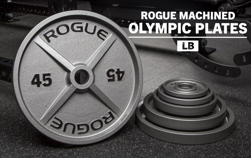 Rogue Releases Machined Olympic Plates