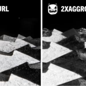 Rogue Aggro knurling comparison