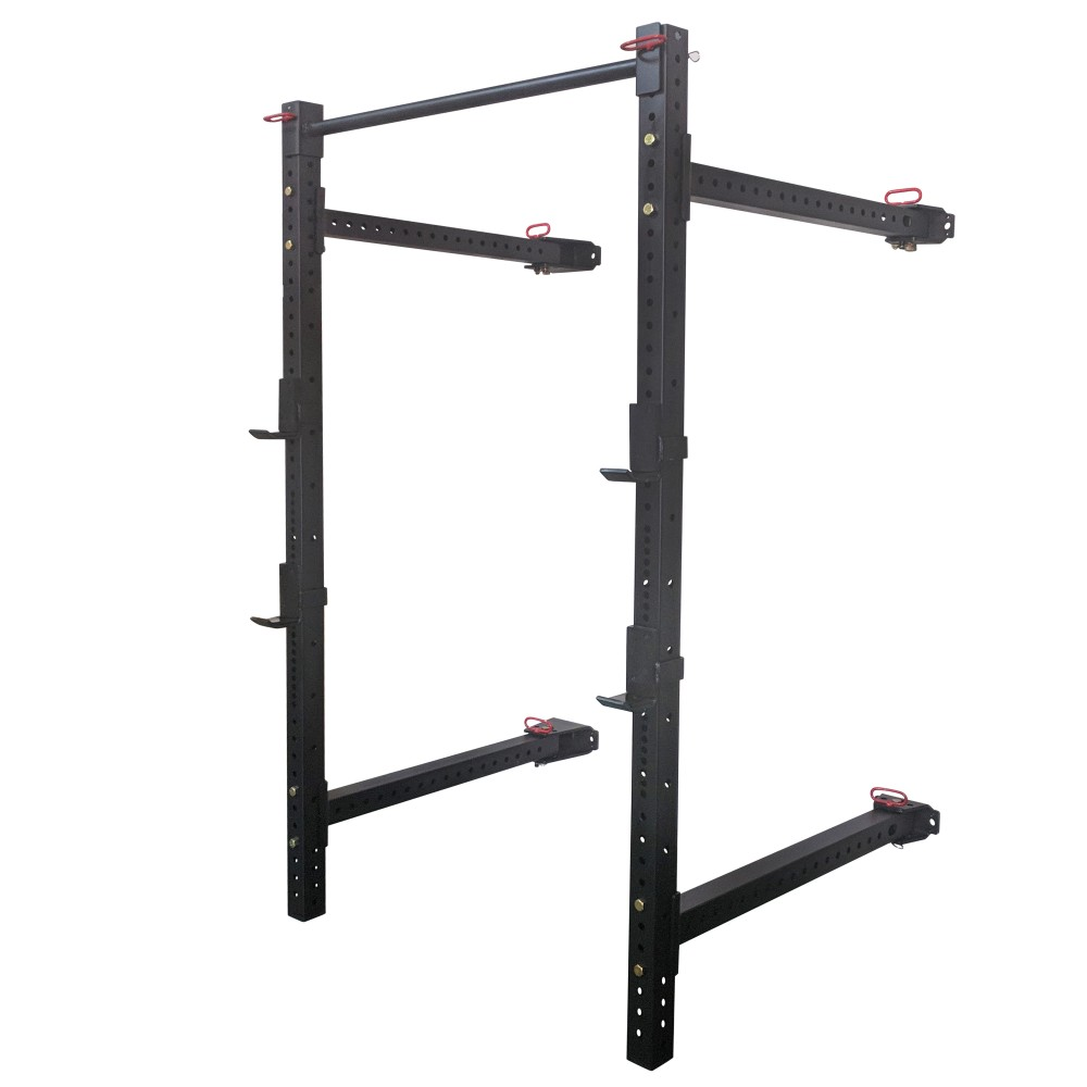Titan X-3 Fold Back Wall-Mounted Squat Rack