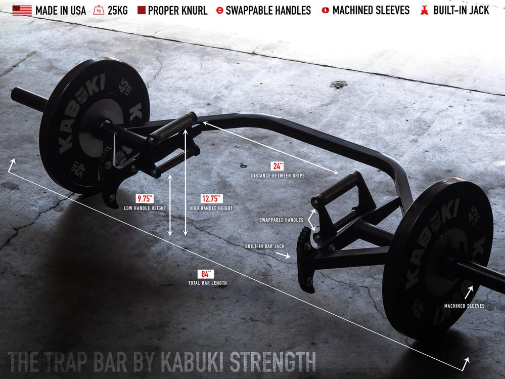 Kabuki Strength Trap Bar